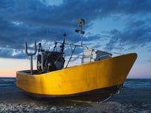 Keelboat Stock Photography