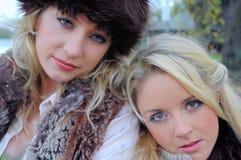 Keeley e Amelia13 Fotografia de Stock Royalty Free