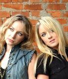 Keeley e Amelia2 fotografia stock libera da diritti