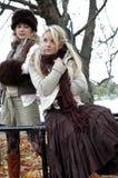 Keeley und Amelia5 Lizenzfreie Stockfotos