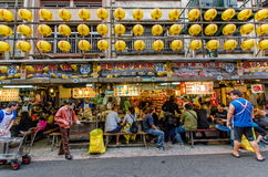 Keelung Miaokou night market,Taiwan Royalty Free Stock Images