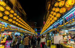 Keelung night market Royalty Free Stock Photo