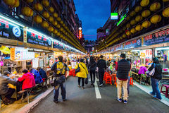 This is Keelung night market Stock Photography