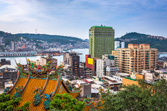 Keelung, Taiwan Cityscape Stock Image