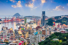 Keelung, Taiwan Skyline Stock Images