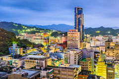 Keelung, Taiwan Skyline Royalty Free Stock Photo