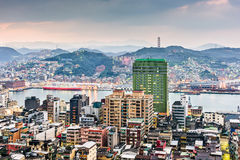 Keelung, Taiwan Skyline Stock Photography