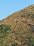 Keelungs-Berg, Keelung, Taiwan stockfotografie