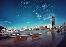 Keelungs-Hafen Stockfoto