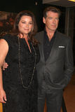 Keely Shaye Smith,Keely Shaye-Smith,Pierce Brosnan Stock Photos
