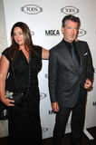 Keely Shaye-Smith,Pierce Brosnan Stock Photography