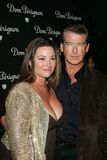 ,Keely Shaye-Smith,Pierce Brosnan Royalty Free Stock Photography