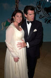 Keely Shaye Smith,Pierce Brosnan Stock Images