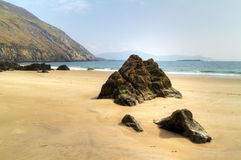 Keem Beach on Achill Island Royalty Free Stock Photos