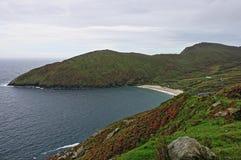 Keem Beach in Achill Island Stock Photos