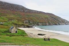 Keem Beach in Achill Island. Ireland Stock Photo