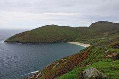Keem Beach in Achill Island. Ireland Stock Photos