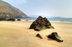 Keem Strand auf Achill Insel Lizenzfreie Stockfotos