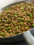 Keema Curry and Peas Royalty Free Stock Images