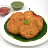 Keema Cutlet snack stock images