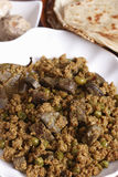Keema Kaleji - a minced mutton from India Stock Photos