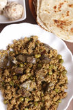Keema Kaleji - a minced mutton from India Stock Photo
