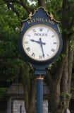 Keeneland Race Track Clock in Kentucky stock images