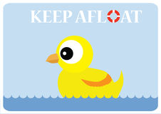 keep afloat Royalty Free Stock Photos