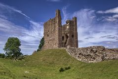 The Keep, Brough Castle Stock Photo