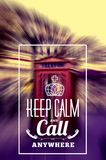 Keep Call Phone Box Royalty Free Stock Images