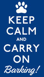 Keep Calm Royalty Free Stock Images