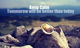 Keep calm concceptual background Stock Photography