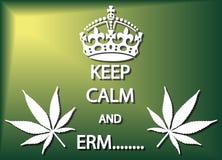 Keep Calm And Erm Stock Photos