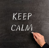 Keep calm Royalty Free Stock Photo