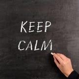 Keep calm Royalty Free Stock Photo