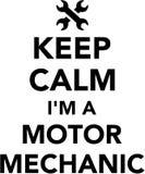 Keep calm I am a motor mechanic Stock Photo