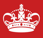 Keep calm poster similar crown Royalty Free Stock Images