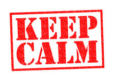 KEEP CALM Stock Photos