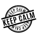 Keep Calm rubber stamp Stock Photography