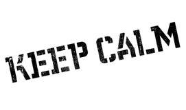 Keep Calm rubber stamp Stock Photos