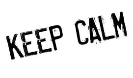 Keep Calm rubber stamp Stock Photo