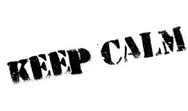 Keep Calm rubber stamp Royalty Free Stock Photo