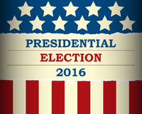 USA 2016 Presidential Election - template Royalty Free Stock Photography