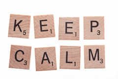 Keep calm Stock Photography