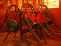 Keep chairs, bars, restaurants Royalty Free Stock Images