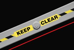 Keep Clear Royalty Free Stock Images