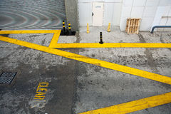 Keep Clear road markings Royalty Free Stock Photography
