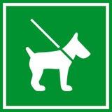 Keep dog on lead sign Stock Photos