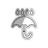 Keep dry delivery Royalty Free Stock Photography