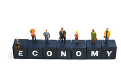 Keep the economy going Royalty Free Stock Images